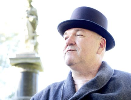 Francis Moore, portrayed by Joe Martin, a prominent businessman in Chatham, was one of several now deceased Chatham residents portrayed during Cemetery Strolls 2013. This years event will feature the opening of a 100-year-old time capsule. (DIANA MARTIN diana.martin@sunmedia.ca)