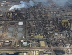 Aerial view of the oilsands in Fort McMurray on August 1, 2013. (VINCENT MCDERMOTT/QMI AGENCY)