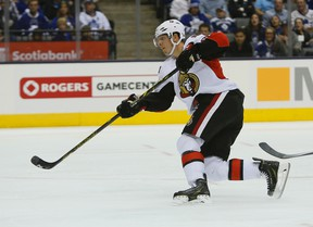 Alex Chiasson is expected to play on the Senators second line. (USA Today Files)