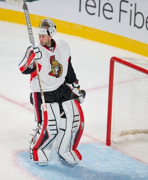 The Senators are strong in goal with No. 1 Craig Anderson and backup Robin Lehner. (QMI Agency)