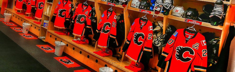 Flames Locker Room