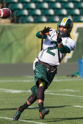 Fred Stamps was practising with the secondc team Friday so the Esks could rotate depth players to work with the first team. (Ian Kucerak, Edmonton Sun)