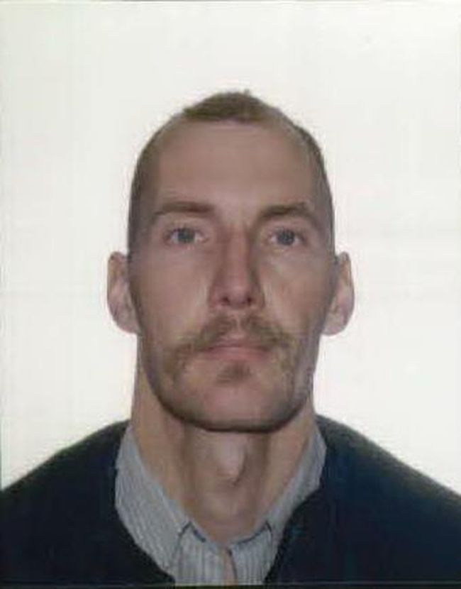 Peter DEGROOT, 45, of Slocan is considered to be armed and dangerous and we ask the public not to approach him if seen, but to call 9-1-1.  Photo courtesy RCMP.