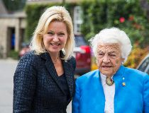 Bonnie Crombie and Hazel McCallion