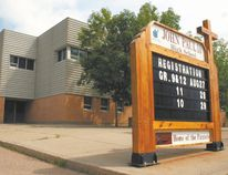 Saint John Paul II High School will soon be replaced by a new Catholic Grade 9 to 12 school in Fort Saskatchewan, with a 1,000-student school approved for the Dow Centennial Centre site. The new school is expected to open its doors in September 2017. File Photo