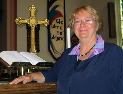 Phyllis Buchner of Frogmore will serve the next two years as president of the 35,000-member United Church Women of Canada. (MONTE SONNENBERG Simcoe Reformer)