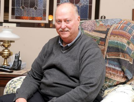 Cec Drake promises to bring a team approach to city hall if elected mayor. RONALD ZAJAC/The Recorder and Times