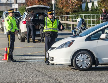 Police redirecting traffic after shooting incident at the Starlight Casino in New Westminster on Nov. 8, 2012. FILE PHOTO, 24 HOURS