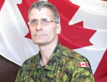 Warrant Officer Patrice Vincent is pictured in this Department of National Defence handout photo. Vincent was killed after being struck, along with another soldier, in Saint-Jean-sur-Richelieu, Que., on Monday. (DND/Handout/QMI Agency)