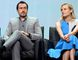 Executive producer Elwood Reid and cast members Demian Bichir and Diane Kruger participate in a panel discussion of 'The Bridge' during FX Networks' portion of the 2014 Television Critics Association Cable Summer Press Tour in Beverly Hills on July 21, 2014. (REUTERS/Kevork Djansezian)