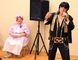 Evelyn Stone was emcee of the district Take Off Pounds Sensibly rally held at the Simcoe Rec Centre on Saturday. Participants dressed in pioneer clothes. The day included a performance from local Elvis impersonator Skeet Deschaine. (DANIEL R. PEARCE Simcoe Reformer)