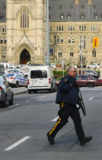 INTERACTIVE MAP: Timeline of Parliament Hill shootings