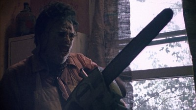 The Texas Chain Saw Massacre (1974): Tobe Hooper's movie is a cult classic because Leatherface repeatedly revs up his signature weapon.