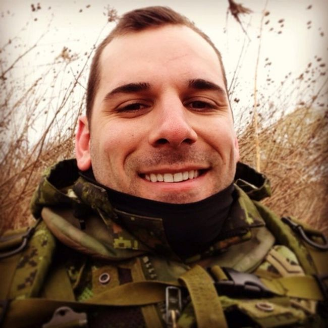 The soldier killed by the gunman at the Tomb of the Unknown Soldier in Ottawa, on Wednesday, Oct. 22, has been identified as Cpl. Nathan Cirillo. (Facebook)