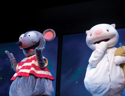 Toopy and Binoo: Fun and Games takes to the stage at the Douglas J. Cardinal Performing Arts Centre this weekend. QMI Agency file photo