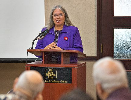 Six Nations elected Chief Ava Hill (Brian Thompson, The Expositor)