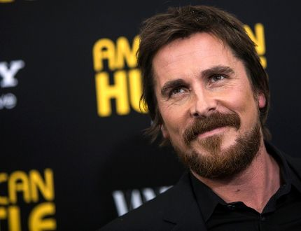 Actor Christian Bale attends the 'American Hustle' premiere in New York December 8, 2013. (REUTERS/Eric Thayer)