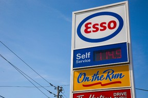 Low gas prices in London on Friday. Mike Hensen/The London Free Press/QMI Agency