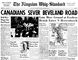 """To download a readable copy of Page 1 and 15 from the Oct. 24, 1944, edition of The Kingston Whig-Standard, <a href=""""https://www.scribd.com/doc/244332985/19441024-Kingston-Whig-Standard"""" target=""""newwindow""""> click here.</a>"""