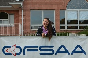 Julia Malone is putting her name on the golf map, joining a couple of other great young local golfers - Brooke Henderson and Grace St-Germain.