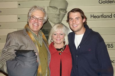 Ben Wasylyshen, Evelyn Mitchell and Andrew Zmiyiwsky at The Brotherhood Concert Series October 4, 2014