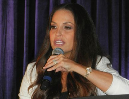 Trish Stratus. (HANK DANISZEWSKI, The London Free Press)