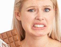 Hold that order! Before you take a sip of that large chocolate milkshake, if you knew you'd have to put in a 16 km walk to burn off the calories, would you still indulge? (Fotolia)