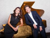 Elizabeth and Marcel Bergmann will perform at the Christian Fellowship Assembly in Grande Prairie Nov. 5. Supplied
