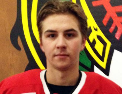 From Grosse Isle, Drake Lindsay is a 19-year-old forward with the Neepawa Natives. (Courtesy of the Neepawa Natives)