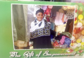 Hearts for Lushoto is once again selling Empowerment Cards that help fund micro economic projects for families in Lushoto, like the family of Zaujia Mahanya. The 46-year-old sells clothing in the market to support her HIV/AIDS positive husband, four school-aged children, her late sister's child and her aging parents.