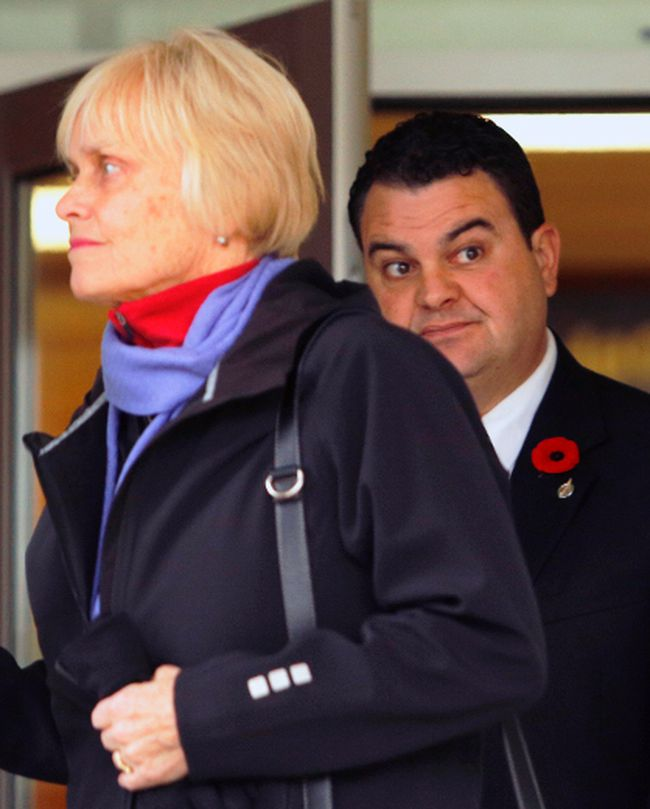 Peterborough MP Dean Del Mastro receives a guilty verdict in his election fraud trial, Oct. 31, 2014. (CLIFFORD SKARSTEDT/QMI Agency)