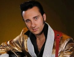 Adam T. Elvis takes the stage in Carman at the end of November. (SUBMITTED/FOR THE VALLEY LEADER)