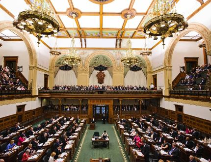 Queen's Park in Toronto (Reuters file photo)