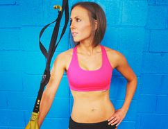 Michele Scarlet a personal trainer at her studios at CORE Strength & Conditioning Studios in Toronto, is known for her intensity. (QMI Agency)