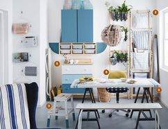 As seen here with Ikea's own Ikea hacks, you can do so much to customize off-the-rack Ikea furniture using simple materials. (PHOTO COURTESY IKEA)