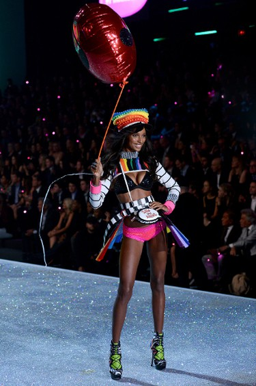 Jasmine Tookes. (Ivan Nikolov/WENN.com)  I had such a blast in Miami today! Thank you all so much! Feeling very blessed:) You all are the sweetest😘 @victoriassecret @caseycrowe @jesssomeck @jeromeduran @tracyalfajora @themartyharper @dreamteamsusan & the rest of the VS Team 💋A photo posted by Jasmine Tookes (@jastookes)on Oct 10, 2014 at 5:50pm PDT