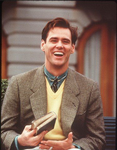 """5. The Truman Show (1998)Peter Weir's prescient satire — featuring Carrey as a man who is unaware that the """"reality"""" of his life has been created for a TV show — remains potent. Carrey showed he can be poignant, not just nutzoid."""
