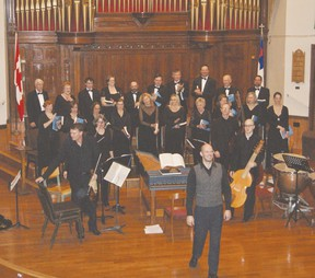 The finale of last year's performance in Goderich.