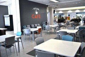 The Outlook Café inside the Mental Health Care Building at Parkwood Institute in London Ont. Nov. 7, 2014.  The new longer-term mental heath care facility officially opens to patients Nov. 16, 2014. CHRIS MONTANINI\LONDONER\QMI AGENCY
