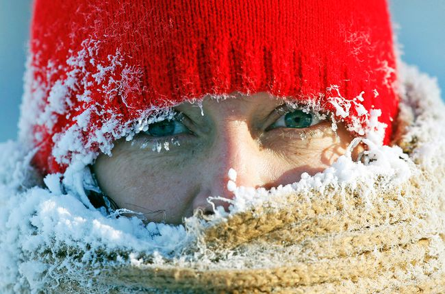 A polar vortex is primed to blast cold air across Canada. (Reuters file photo)
