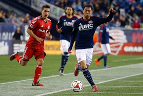 New England's Lee Nguyen is a MLS MVP candidate. (USA TODAY SPORTS)