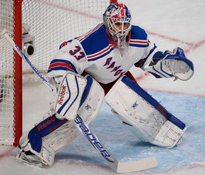 The Rangers, like the Leafs, play both Saturday and Sunday this weekend. It appears that New York will use backup goalie Cam Talbot against the Leafs. (MARTIN CHEVALIER/QMI Agency files)