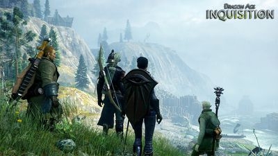 Dragon Age: Inquisition is an upcoming action role-playing video game being developed by BioWare and published by Electronic Arts. Description; A cataclysmic event plunges the land of Thedas into turmoil. Dragons darken the sky, casting a shadow over lands on the brink of chaos. Mages break into all-out war against the oppressive templars. Nations rise against one another. It falls to you and your allies to restore order as you lead the Inquisition and hunt down the agents of chaos.