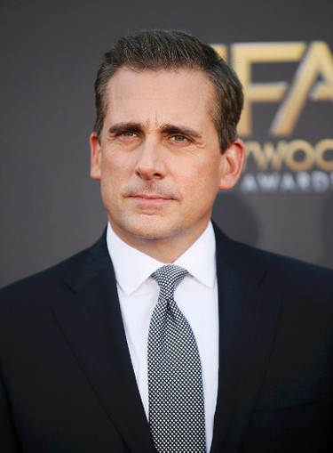 Actor Steve Carell arrives at the Hollywood Film Awards in Hollywood, California November 14, 2014.  REUTERS/Danny Moloshok