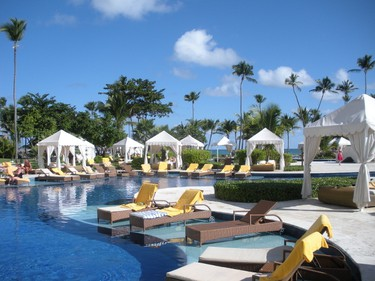 """7. Iberostar Grand Bavaro Hotel, Punta Cana, Dominican Republic: """"Had a fantastic time. Room, location, all staff, food, drink, shows were all excellent and can't wait to return for more fun and relaxation,"""" said TripAdvisor user bradpitt13. """"There is always something to do or not if you wish. Our stay was relaxing and we were treated like royalty. Met many nice and friendly people."""" (Nicole Feenstra/QMI Agency)"""