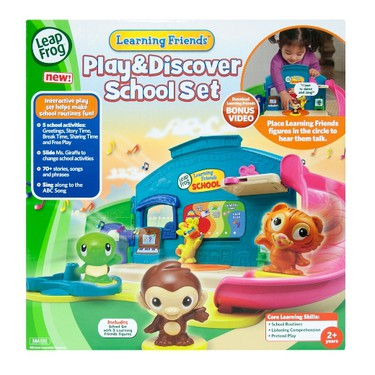 Learning Friends Play & Discover School Set by LeapFrog, $19.97.