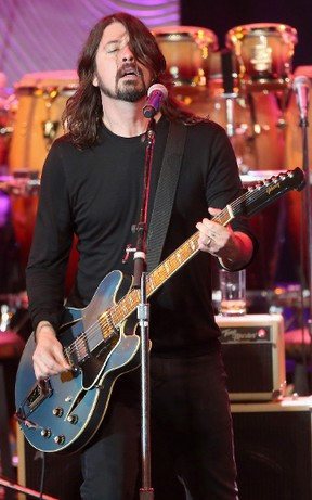 Foo Fighters' Dave Grohl (AFP)