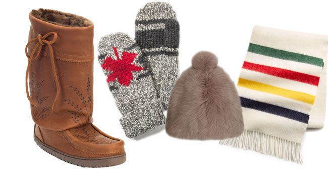 Nobody knows more about how to look good in 40-below weather than us Canucks. (Up here, layering is practically a competitive sport.)<br><Br>Here are a few ways to add a little dose of Canadian content to your winter looks.