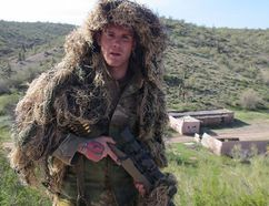 Facebook photo of Keenan Feeney of Calgary has been charged with perjury and obstruction for exaggerating his military service in court. Facebook/Calgary Sun/QMI Agency