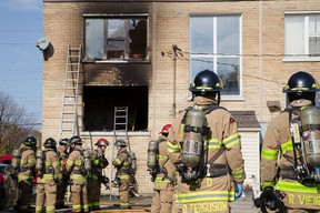 This November 2014 fire in an unregulated Oxford Street group home killed resident David MacPherson, 72, and spurred a tough new city bylaw.  (File photo)